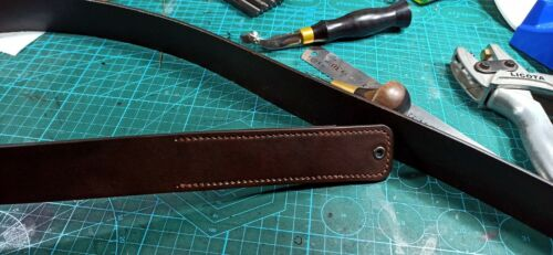 Replacement Leather Belt for Bowen Knife Belt | Made-to-Order