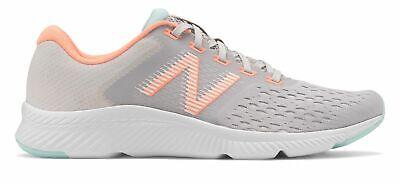 New Balance Women's DRFT Shoes Grey with Orange