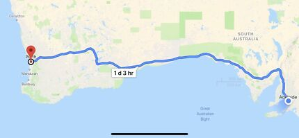 Share ride—- Adelaide to perth on 22 Thursday