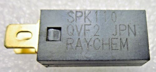 SPK110 RAYCHEM TE CONNECTIVITY RESETTABLE FUSES PPTC RADIAL 5-PC LOT