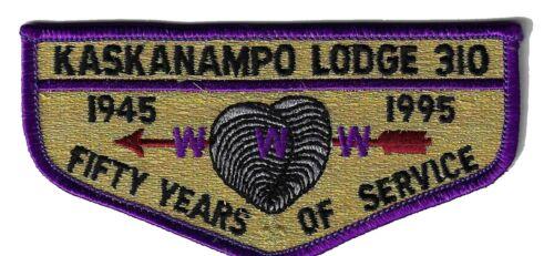 OA - Kaskanampo Lodge 310 - S15 - 50th Anniversary.