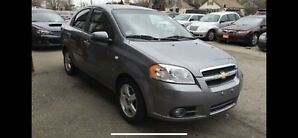 2008 Chevrolet Aveo Lt only 74000 kms