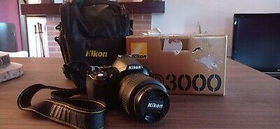 Fotocamera Digitale Reflex Nikon D3000 Obiettivo 18-55