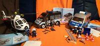 Playmobil 6874 + 6043 + 9236 Polizeifahrzeuge+Hubschrauber Set Bayern - Wiesenbronn Vorschau