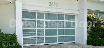 Duro Steel Amarr 3552 Series 14 X 14 Full View Glass Heavy Duty Overhead Door