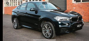 BMW X6 2015 my diesel SUV , M sport 72,000k's North Hobart Hobart City Preview