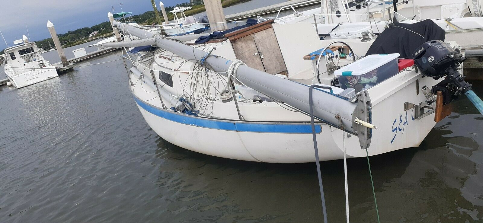 1976 Irwin 25' Sailboat - Florida