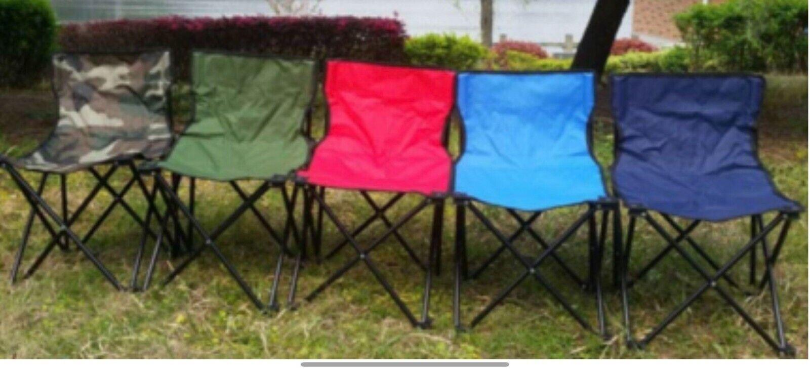 Patio Furniture Folding Camping Chair Beach Seat Fishing Picnic Outdoor BBQ Chairs & Seats