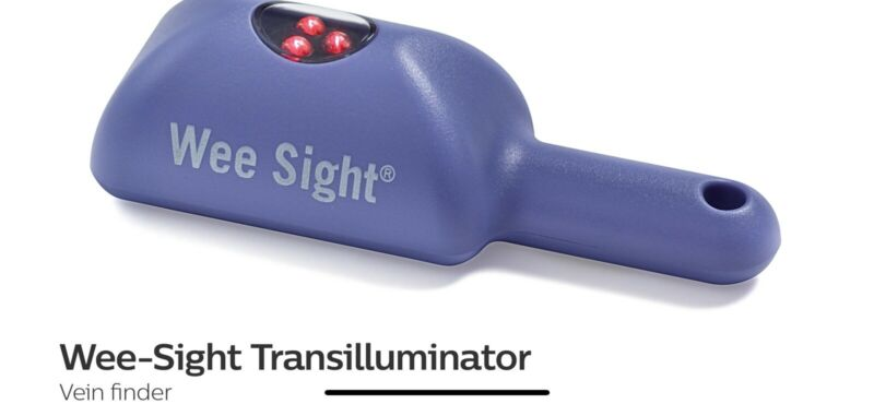 Philips Wee Sight. Transluminator