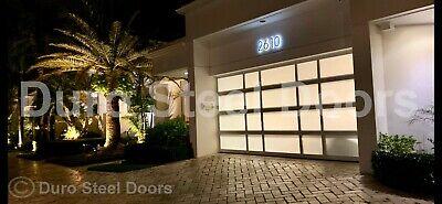 Duro Steel Amarr 3552 Series 10 X 10 Full View Glass Heavy Duty Overhead Door