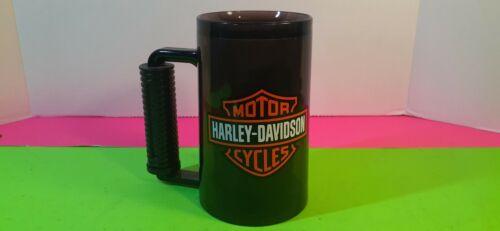 Vintage Plastic Black Harley Davidson Mug/Cup 16oz