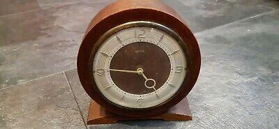 Smiths Wooden Mantle Clock.
