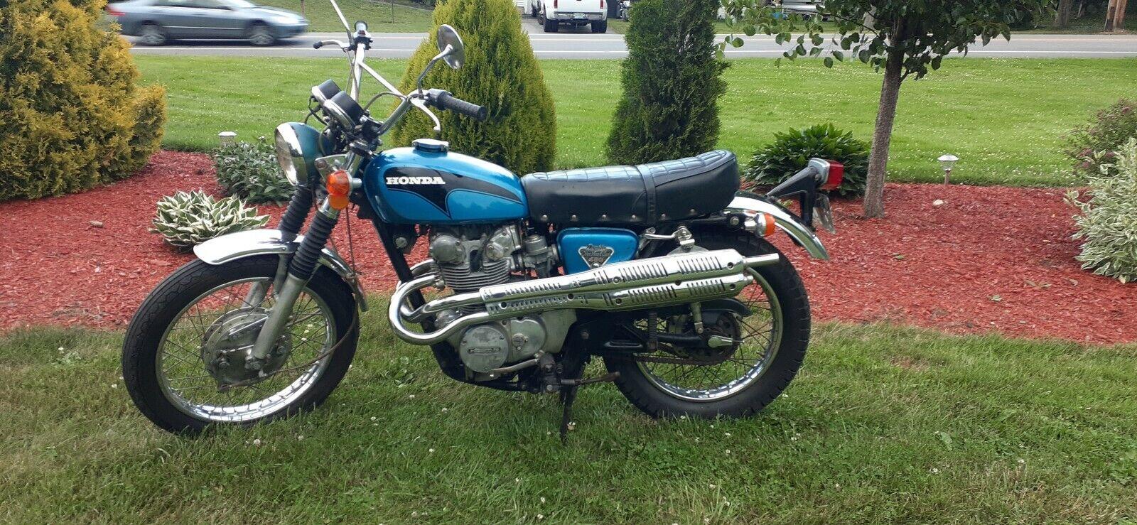 1971 Honda cl450 scrambler
