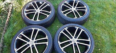 "Genuine VW 18""Nogaro alloy wheels/tyres"