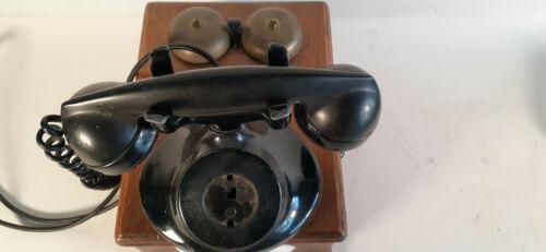Antique Western Electric Handcrank Oak Telephone