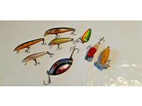 """1979 Bagley Small Fry Old Fishing Lure Color Chart Metal Sign 9x12/"""" A332"""