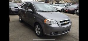 2008 Chevrolet Aveo LT LOADED only 74000 kms Certified