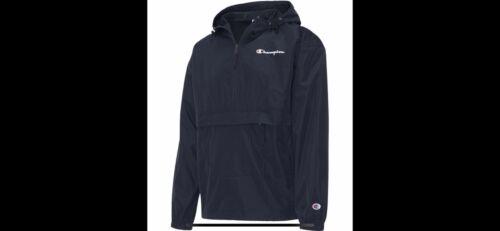 Champion Mens Jacket Packable Wind Resistant Lightweight Scu
