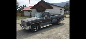 1982 Chevy Diesel 2wd Longbox Pickup