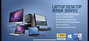 COMPUTER REPARING AND SERVICES LOWER PRICE $40