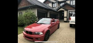 2005 BMW m3 convertible. 6 speed manual