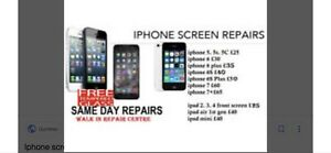 Iphone Lcd repairs free temper glass and much more
