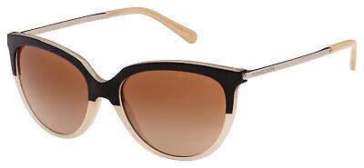 Michael Kors Sue Sunglasses MK 2051 328313 55 Black / Beige |Brown Gradient Lens