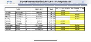 Oiler tickets $40 less then Ticketmaster