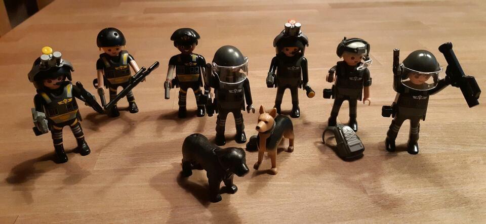 Playmobil, Polizei, SEK, Hunde in Niedersachsen - Sittensen