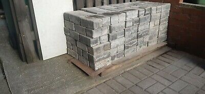 USED BLOCK PAVING GREY