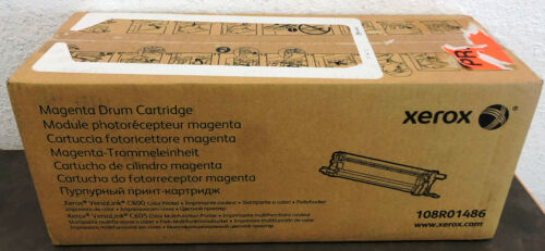 Xerox Genuine Magenta Drum Cartridge 108R01486 OEM Original VersaLink C600 C605