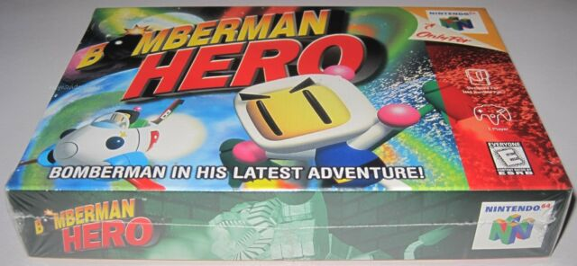 Bomberman Hero (Nintendo 64) ..Brand NEW!!!