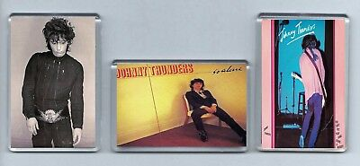 Magnets x3 JOHNNY THUNDERS So Alone You Can't Put Your Arms Round A Memory PUNK