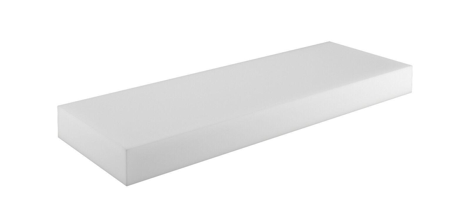Schaumstoffplatte für Europalette Polsterauflage Matratze Zuschnitt 120x80cm Sitzkissen 120x40x10cm