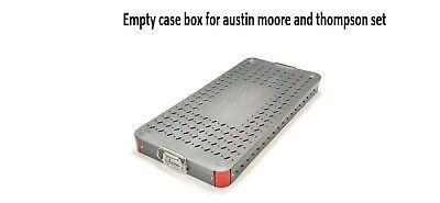 Orthopedic Empty Case Box For Austin Moore And Thompson Instruments Set Aluminiu
