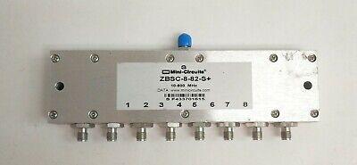 Mini-circuits Zbsc-8-82-s 8 Ways Power Splitter 10-800 Mhz 50 Sma Connector