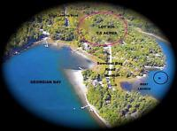 5.6 Acre Lot-Parry Sound area in prestige million dollar homes