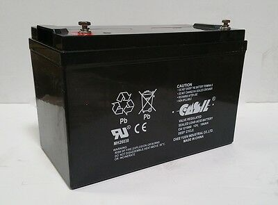 12V 100ah SLA AGM Deep Cycle AGM battery Group 27 solar, RV, Charger, Off Grid