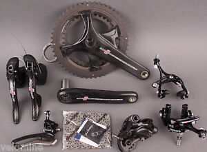 2015 Campagnolo Record 11 Speed Group Groupset 6 Pieces 172.5mm Crankset