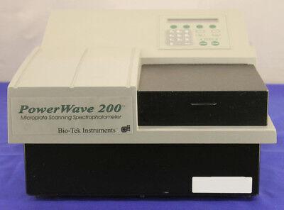 Biotek Instruments Powerwave 200 Microplate Reader With Manual Software