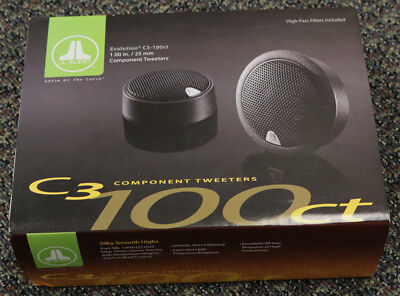 "JL AUDIO C3-100ct 1"" CAR AUDIO COMPONENT TWEETERS for C3 SERIES SPEAKER SYSTEMS"