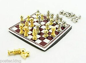 International-Western-Chess-Game-Dollhouse-Miniature