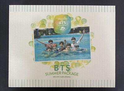 BTS-Summer Package 2015 Photobook DVD FULL SET NM- CONDITION