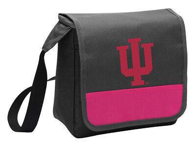 - Indiana University Lunch Bag Girls Cooler Ladies IU Lunchbox MESSENGER BAG STYLE