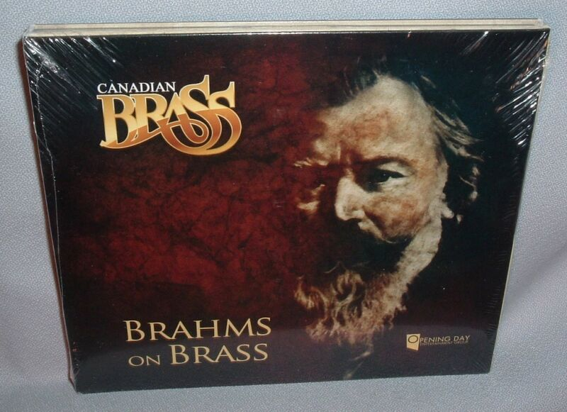 Cd Canadian Brass Brahms On Brass New Mint Sealed