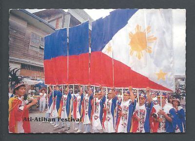Ati-Atihan Festival Flag Kalibo Visayas Philippines