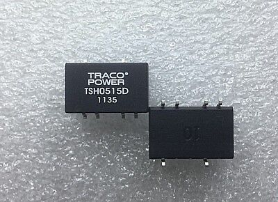 Lot (2 psc) TRACO POWER TSH 0515D Isolated DC/DC Converters 5VDC to +/-15VDC Psc Power Converter