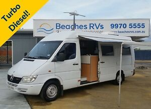 Mercedes Sprinter Motorhome with Low Mileage! North Narrabeen Pittwater Area Preview