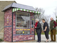 Mobile Local Community Shop Store Kiosk. Catering Pitch Plot of Land. Pengam Green Cardiff Wales UK