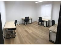 Wimbledon Park industrial style private offices - £290/desk per month